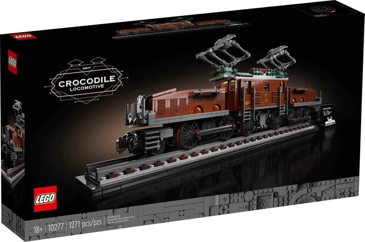 lego 10277 krokodil lokomotiv