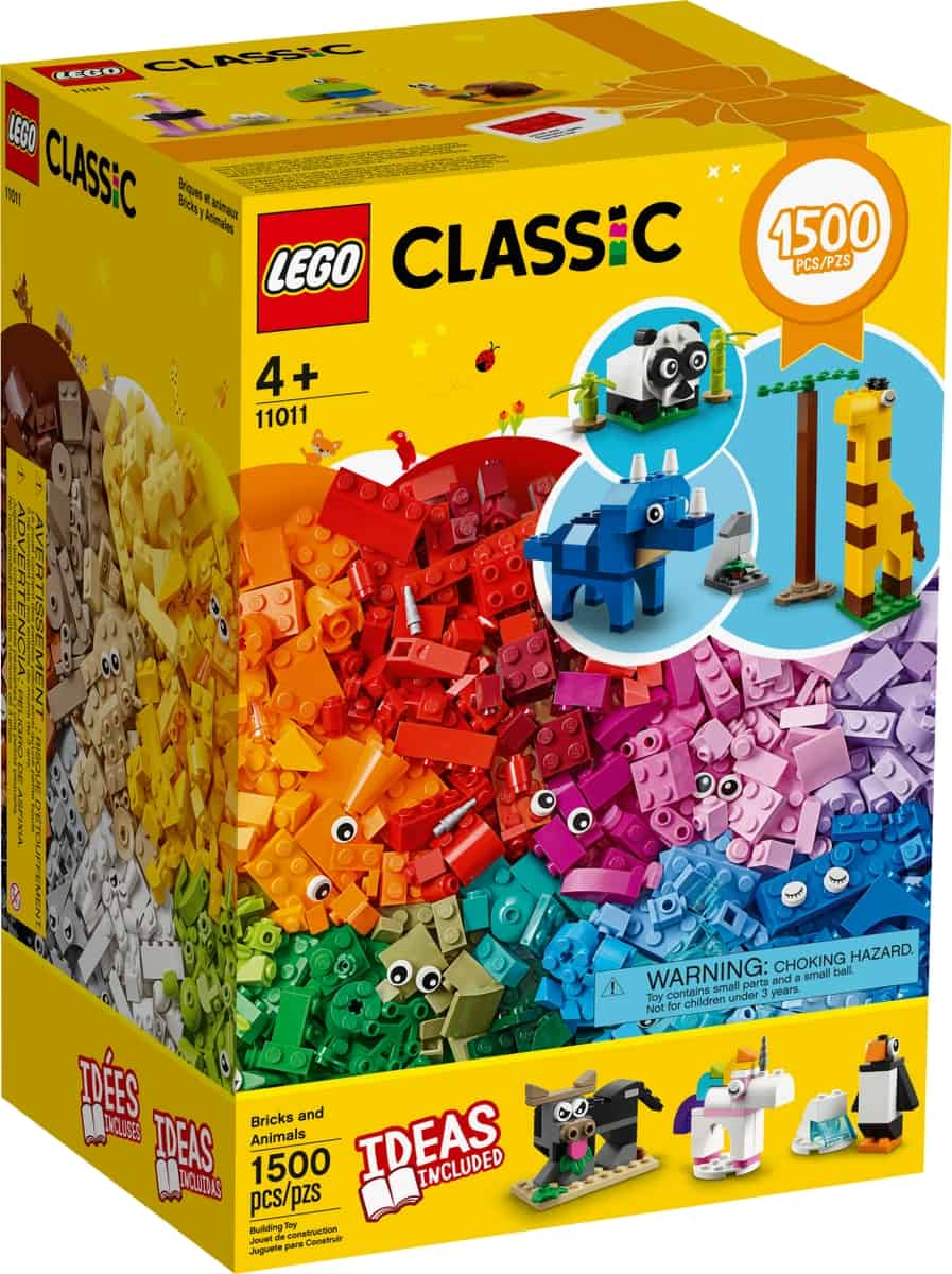 lego 11011 kockak es allatok