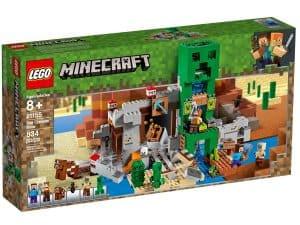 lego 21155 a creeper barlang