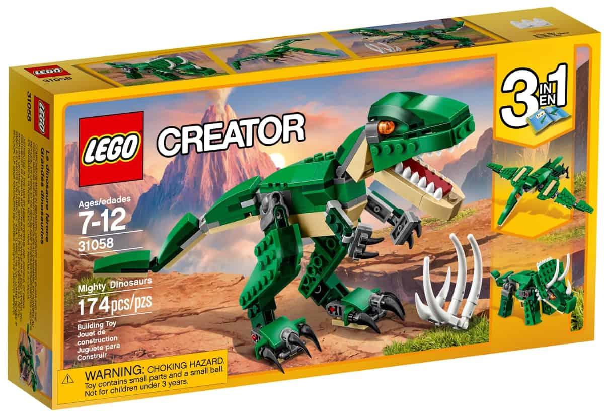 lego 31058 hatalmas dinoszaurusz