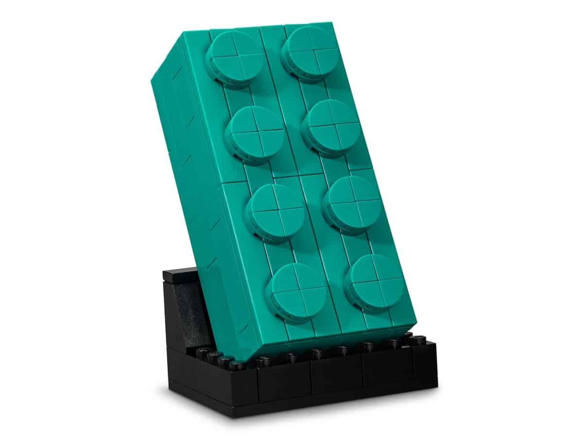lego 5006291 2x4 es turkiz kocka