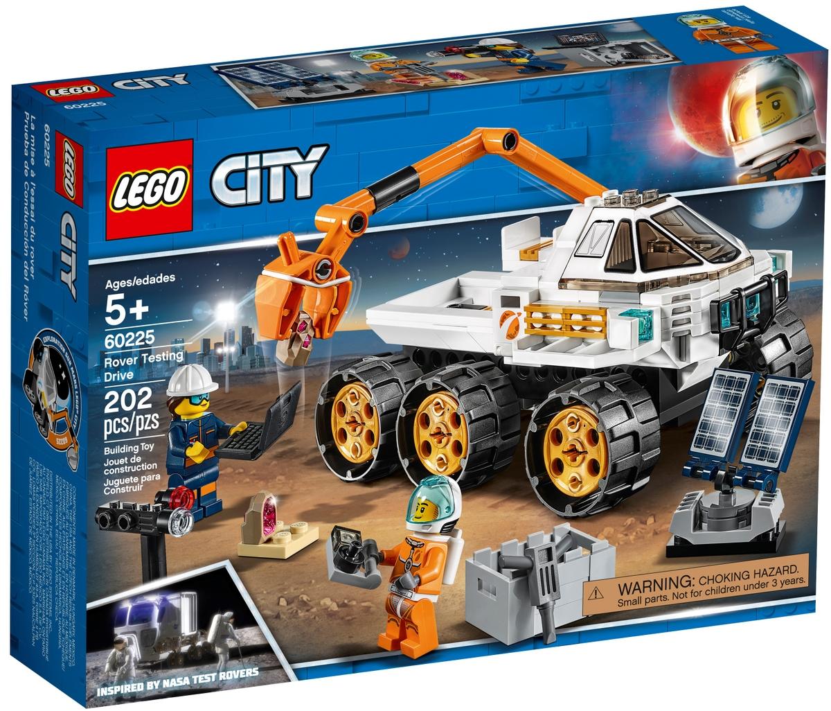 lego 60225 rover tesztvezetes