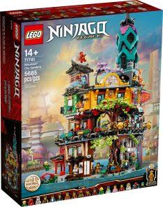 lego 71741 ninjago varosi lombhaz