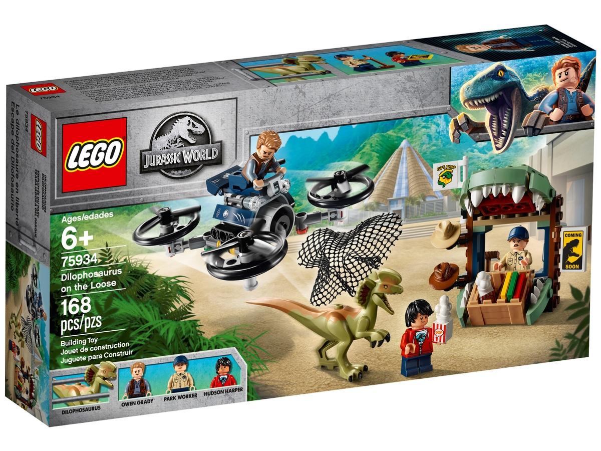 lego 75934 elszabadult dilophosaurus
