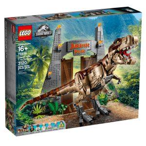 lego 75936 jurassic park t rex tombolas