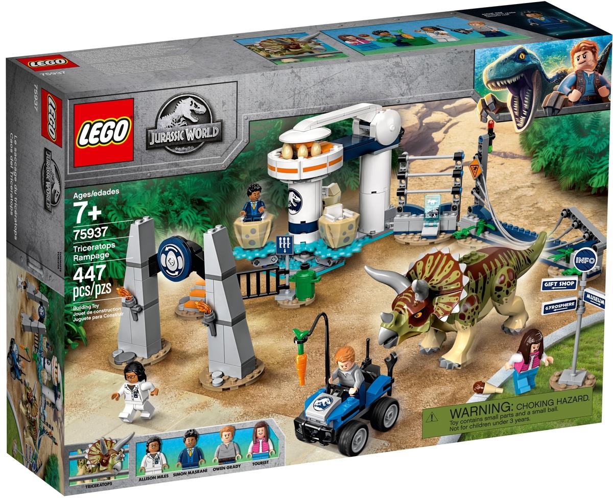 lego 75937 triceratops tombolas