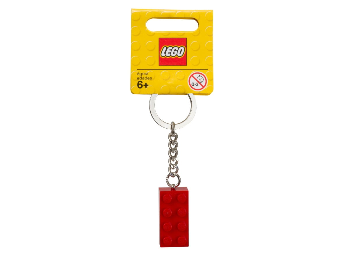 lego 850154 2x4 es piros kockakulcstarto