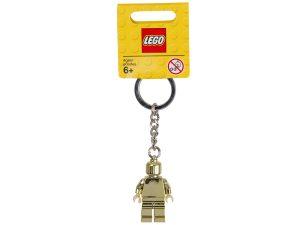 lego 850807 aranyszinu minifigura kulcstarto
