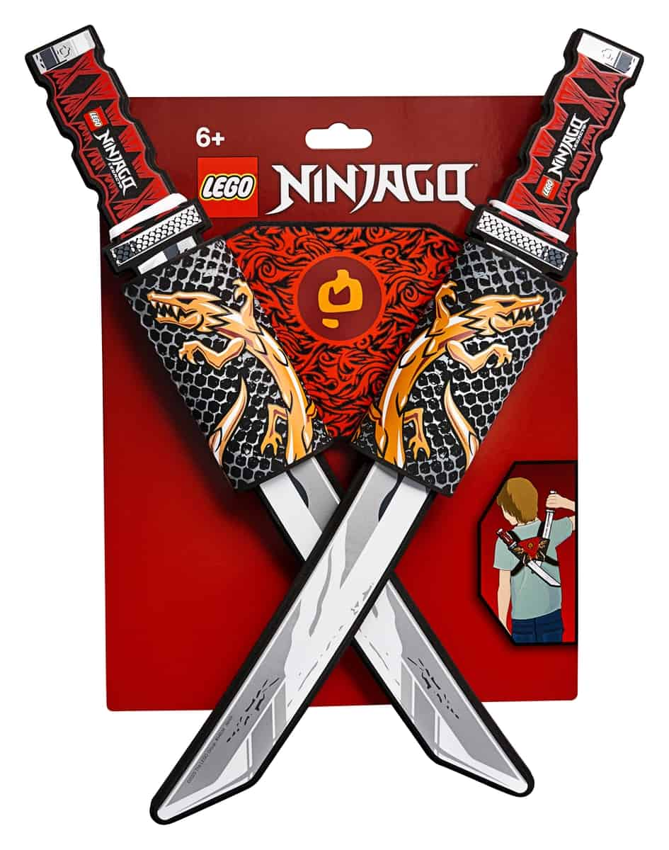 lego 854034 ninjago egymast keresztezo katanak