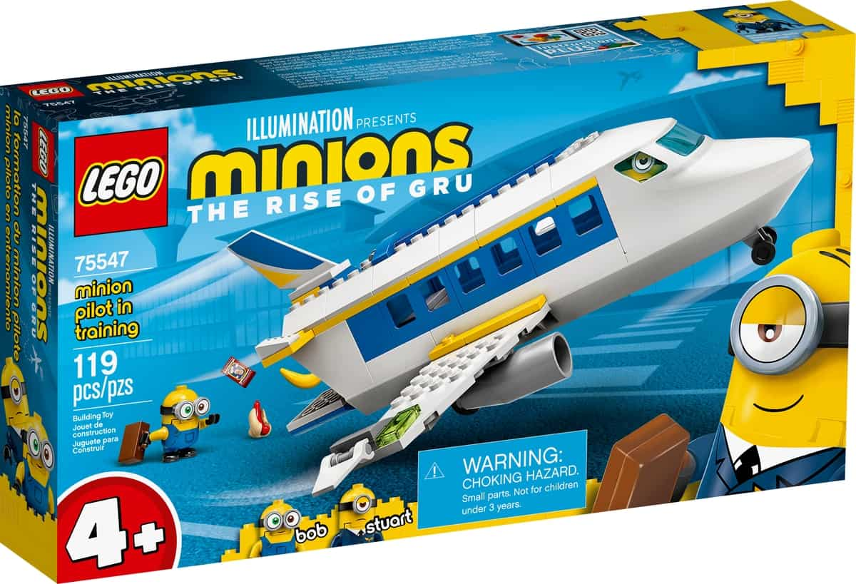 lego 75547 minyon pilota gyakorlaton