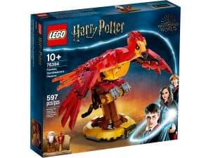 lego 76394 fawkes dumbledore fonixe