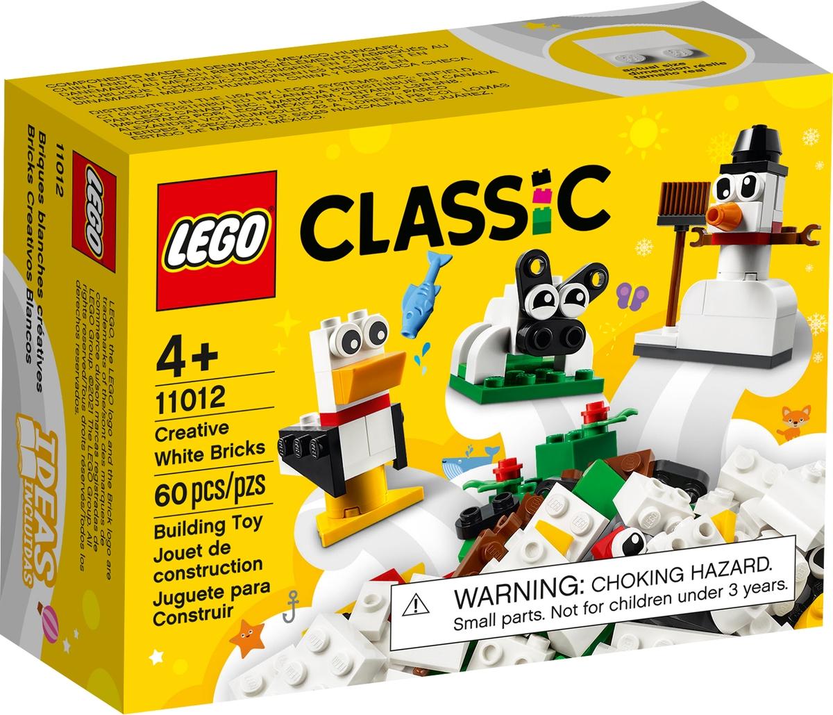 lego 11012 kreativ feher kockak