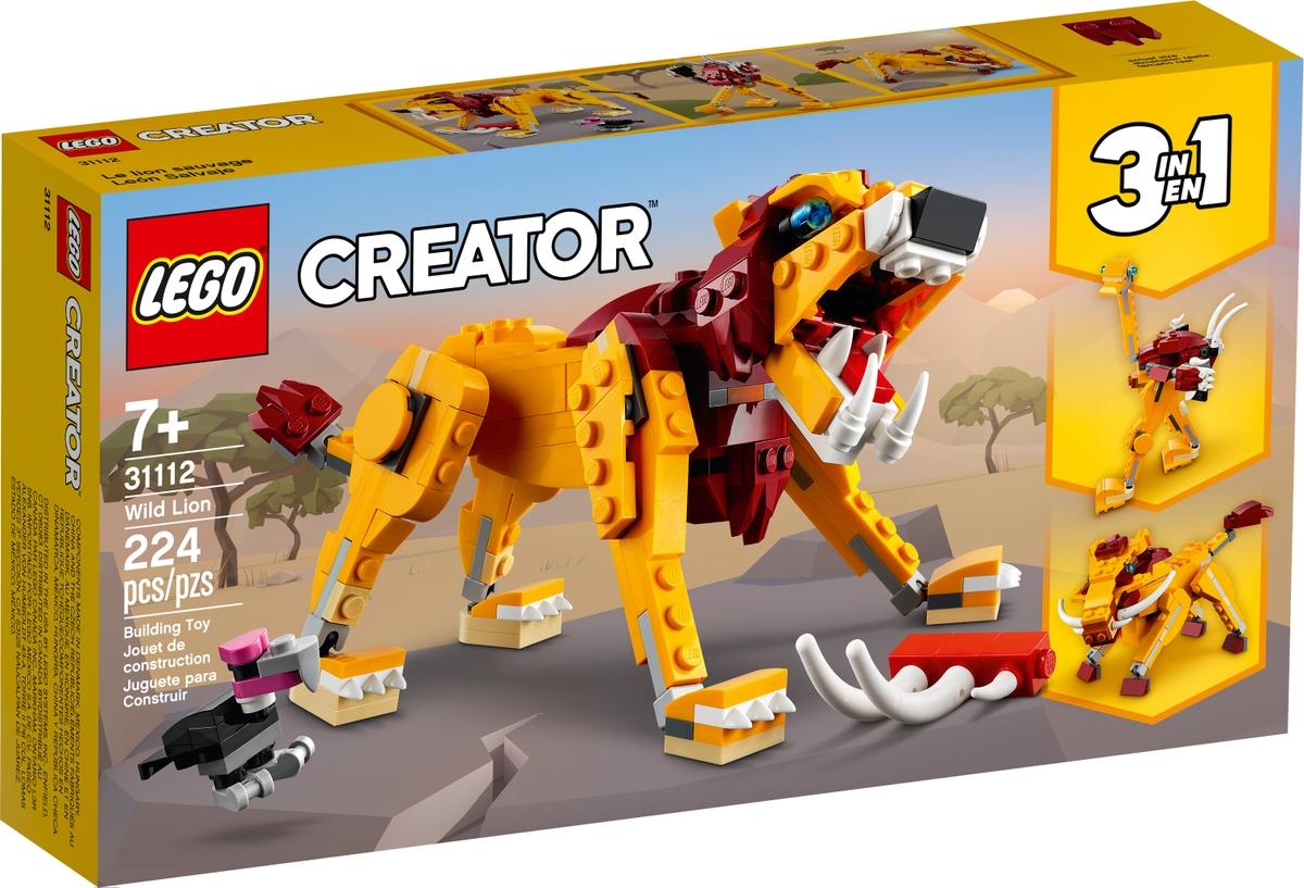 lego 31112 vad oroszlan