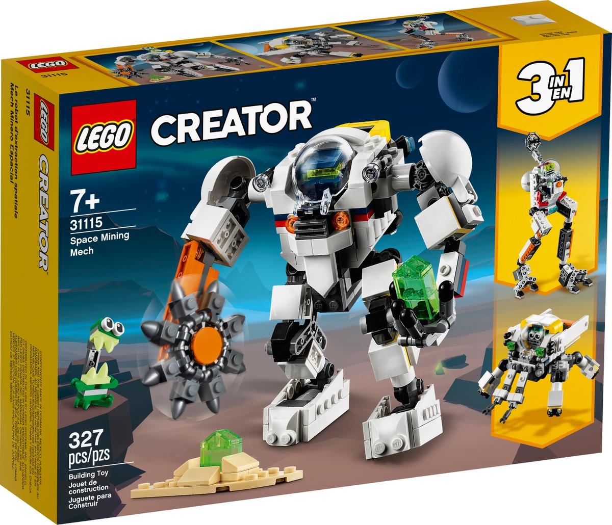 lego 31115 urbanyaszati robot