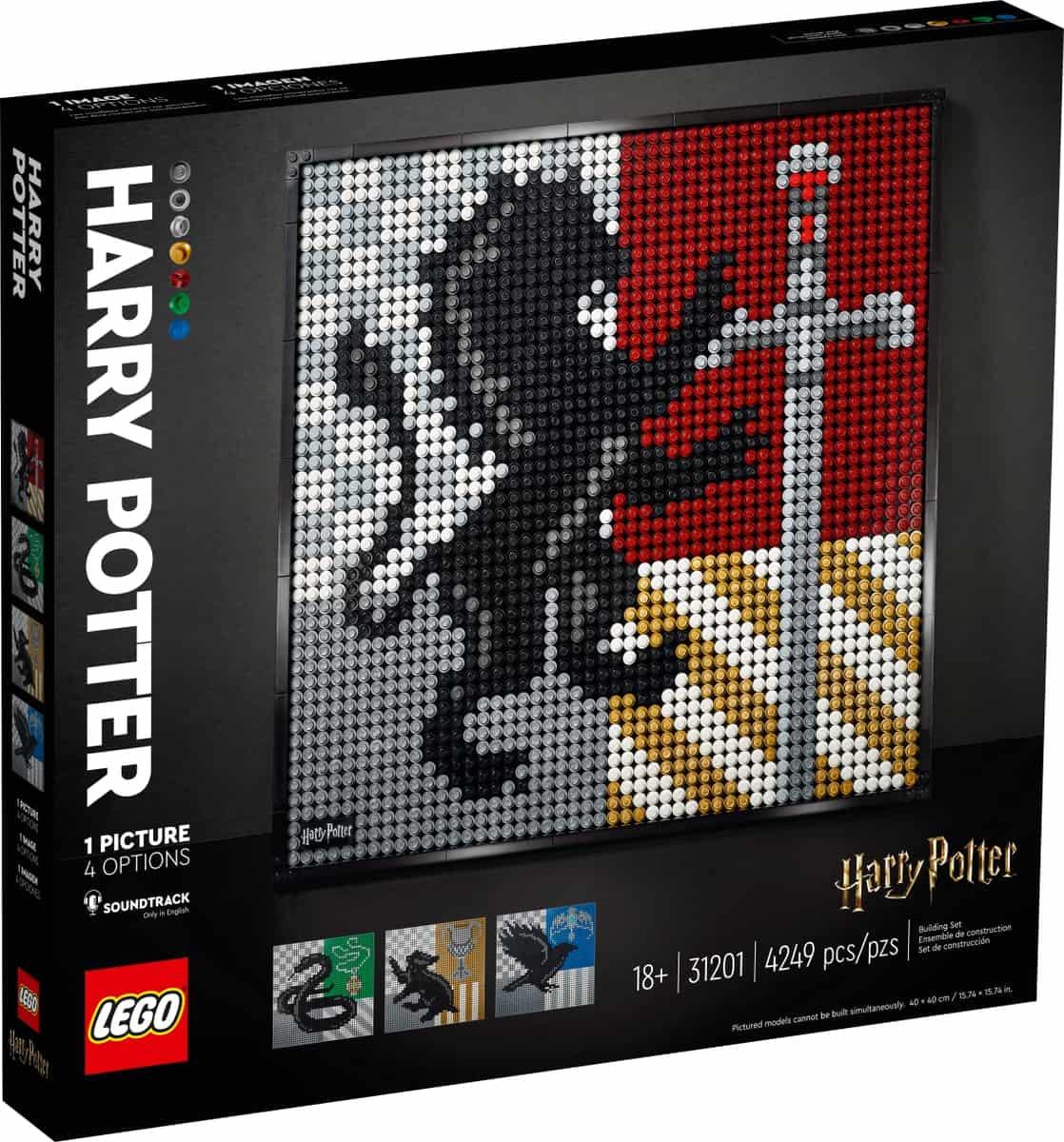 lego 31201 harry potter hogwarts cimerek
