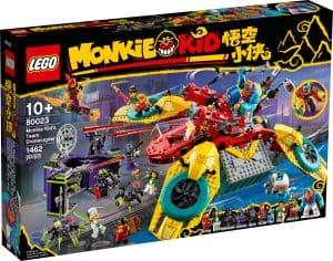 lego 80023 monkie kid csapatanak dronkoptere