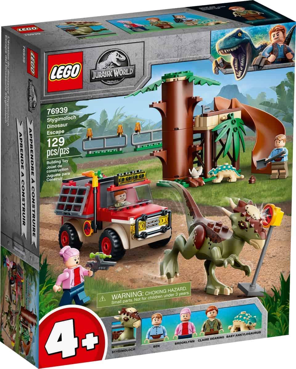 lego 76939 stygimoloch dinoszaurusz szokes