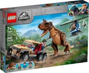 lego 76941 carnotaurus dinoszaurusz uldozes