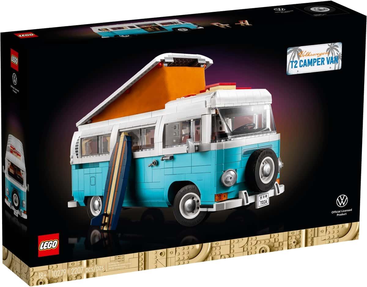 LEGO 10279 Volkswagen T2 lakóautó