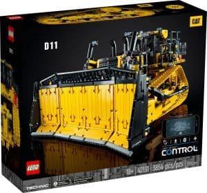 lego 42131 applikacioval iranyithato cat d11 buldozer